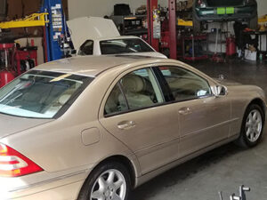 Mercedes repair indian trail